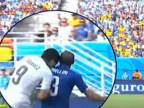 Suárez trošku obkuskaval Chielliniho