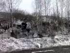Masívny pomalý zosuv pôdy (Rusko)