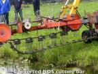 Demonštrácia čistenia kanálov (Holandsko)