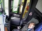 Autobusár si za jazdy trochu pospal (Moskva)