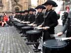Švajčiarska bubenícka formácia Top Secret Drum Corps