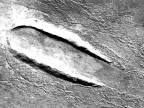 Pristal na Marse gigantický disk?