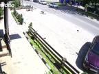 Motorkár zrazil dieťa na priechode (Rusko)