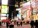 Times square New York v noci