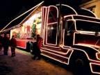Vianočný Coca-Cola kamión v Bardejove