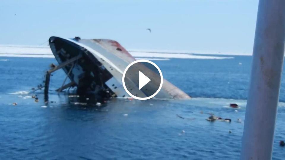 d28c6d0aa Posledné minúty ruskej rybárskej lode - Mojevideo