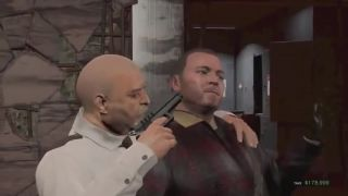 GTA V gameplay - 1. misia