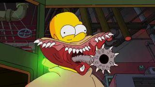 Simpsonovci - hororové intro