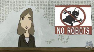 Robotom vstup zakázaný!