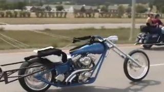 Prezident motorkárskeho gangu