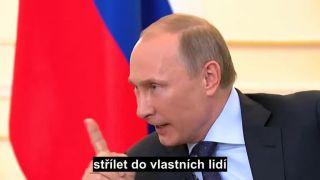 Odpoveď Putina na tému Ukrajina