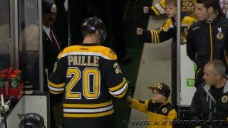 Malý veľký hokejový fanúšik
