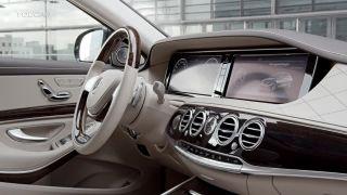 Mercedes-Maybach Trieda S 2016 interiér