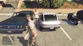 GTA V - žena za volantom