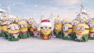 Šťastné a Veselé Vianoce želajú Mimoni!