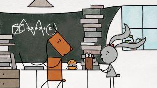 Králik a jeleň (krátky film)