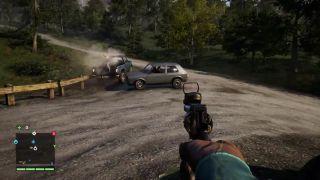 Far Cry 4 - žena za volantom