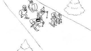 Traja ruskí bohatieri a biatlon