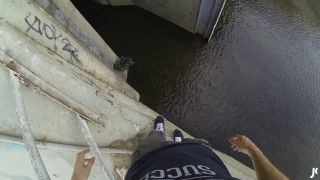 Odvážlivci preskúmali vodné dielo (POV)