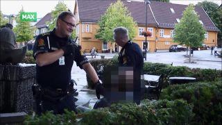 Ako policajti zadržali agresívneho opilca (Nórsko)