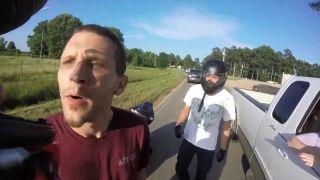 Ja tým motorkárom ukážem! (cestná pomsta)