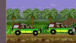Jurský park (8-bit verzia)