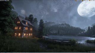 Modelovanie nočnej scény v Unreal Engine 4
