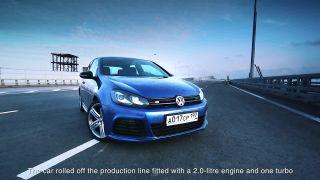 Ruský VW Golf R - postrach všetkých Lamborghini