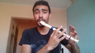 Jedinečný beatbox freestyle s flautou