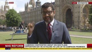Sabotáž reportáže (Londýn)