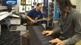 Syntezátor ROLI Seaboard Grand vs. elektrická gitara