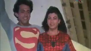 Indický Superman na rande so Spiderwoman