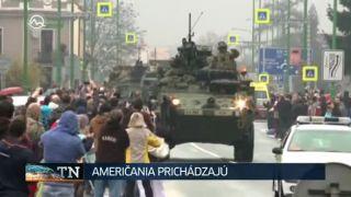 Slovenskom prejde americký konvoj