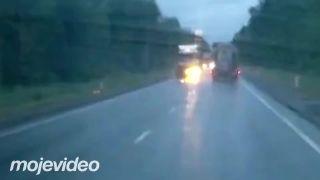 Fatálna nehoda motocyklistu (Poľsko)