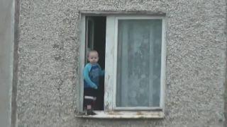 Medzičasom na sídlisku v Čeľabinsku (Rusko)