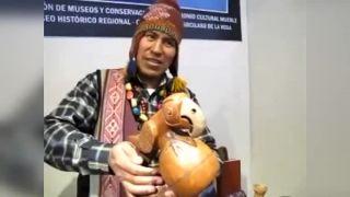 Peruánske píšťalky napodobňujúce zvuky zvierat