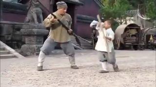 Ako sa Jackie Chan od malého majstra učil
