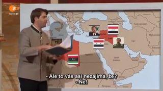 Sýria a utečenecká kríza (vtipná nemecká šou)