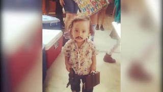 Pablo Escobar junior (halloweensky kostým)