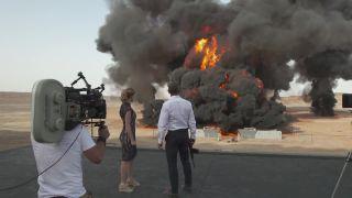 Najväčší výbuch na filmovom plátne (Spectre)
