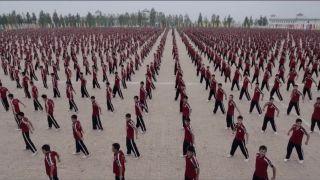 36000 detí čínskej kung-fu školy Shaolin