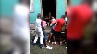 Detská diskotéka v Afrike