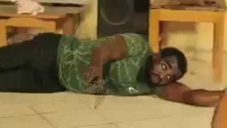 Akčná scéna na Oscara (Ghana)
