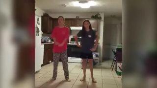 Otec dcéram vyšperkoval ich tanečný klip