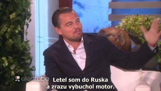 Leonardo DiCaprio a jeho historka z lietadla