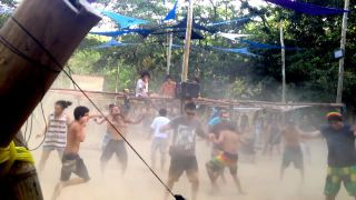 Na festivale v brazílskom dažďovom pralese