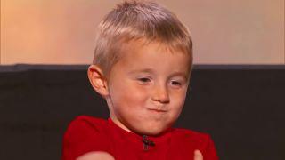 4-ročný basketbalový fenomén Titus (USA)