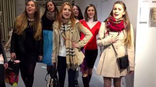 """Ruské """"biele zlato"""" spieva v IKEI"""