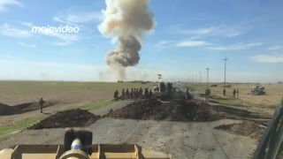 1000 kg TNT vo vzduchu (Iracký Kurdistan)