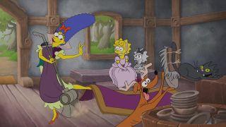 Simpsonovci v štýle dineyoviek